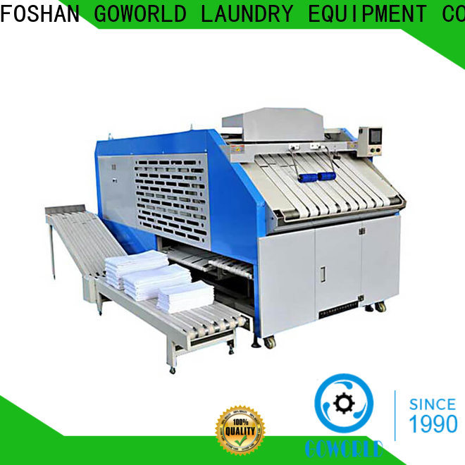 GOWORLD automatic towel folding machine intelligent control system for medical engineering