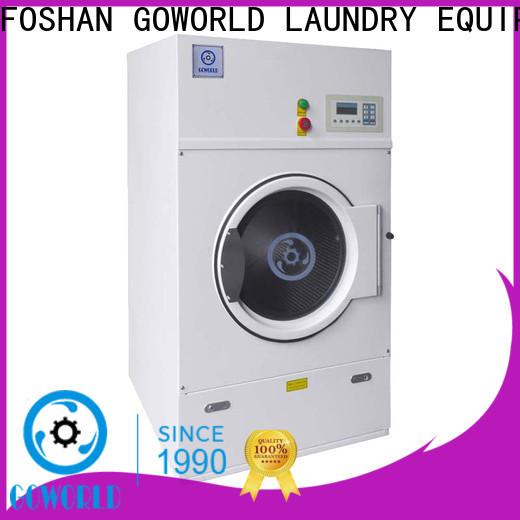 GOWORLD standard laundry dryer machine easy use for inns