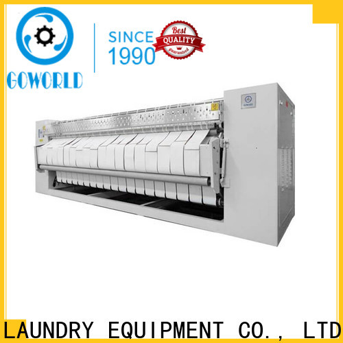 GOWORLD heat proof flatwork ironer factory price for textile industries