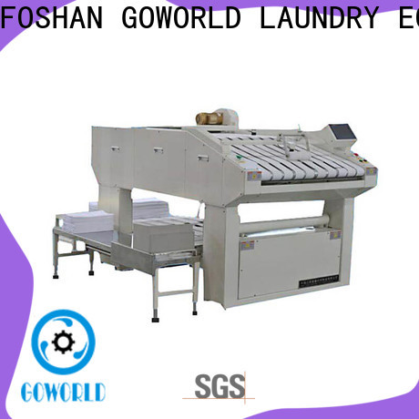 GOWORLD multifunction towel folder intelligent control system for textile industries