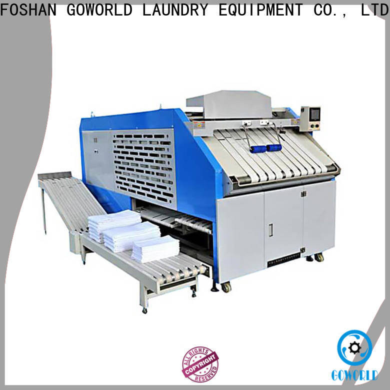 GOWORLD towel towel folding machine intelligent control system for medical engineering