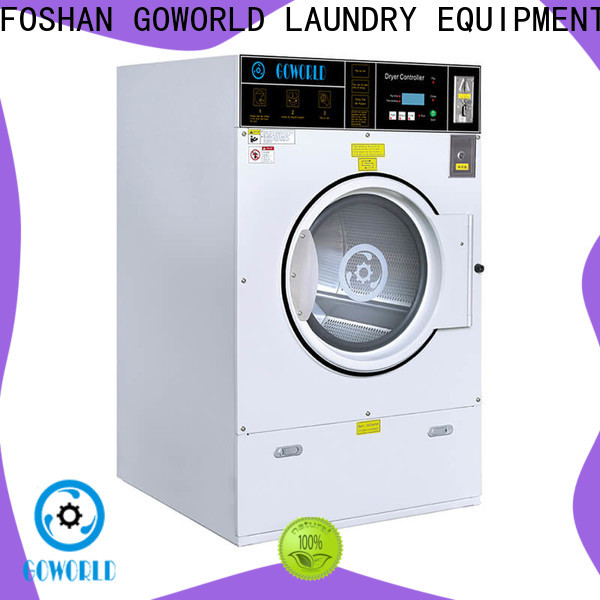GOWORLD self-service laundry machine steam heating for school