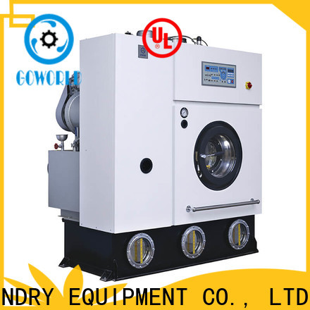 GOWORLD safe dry cleaning equipment energy saving for hotel