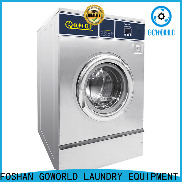 GOWORLD high quality commercial washer extractor easy use for inns