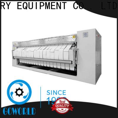 GOWORLD heating flat work ironer machine free installation for inns