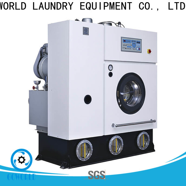 automatic dry cleaning machine environment for laundry shop