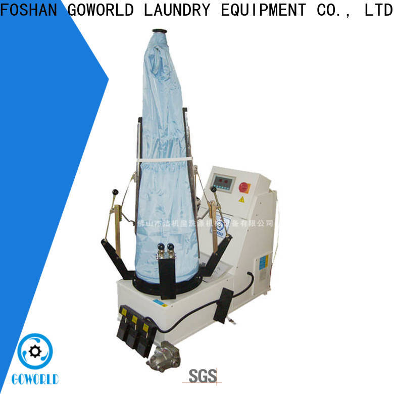 GOWORLD grade utility press machine Steam heating for dry cleaning shops