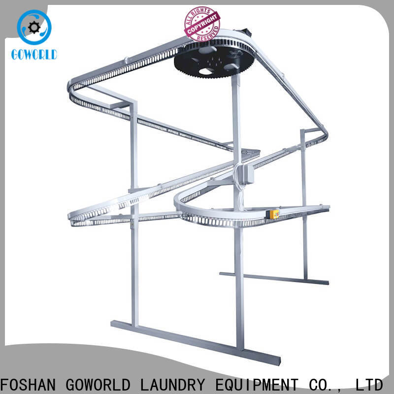 GOWORLD removal laundry packing machine supply for textile industrial