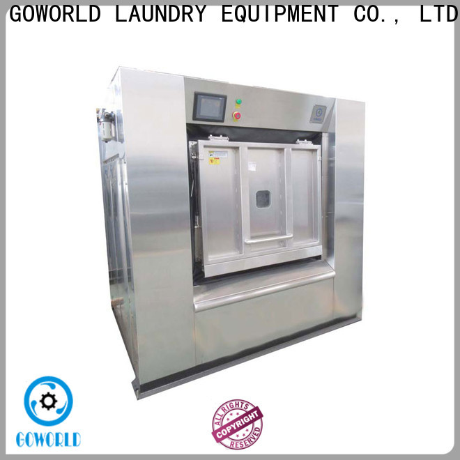 automatic barrier washer extractor machine easy use for laundry plants