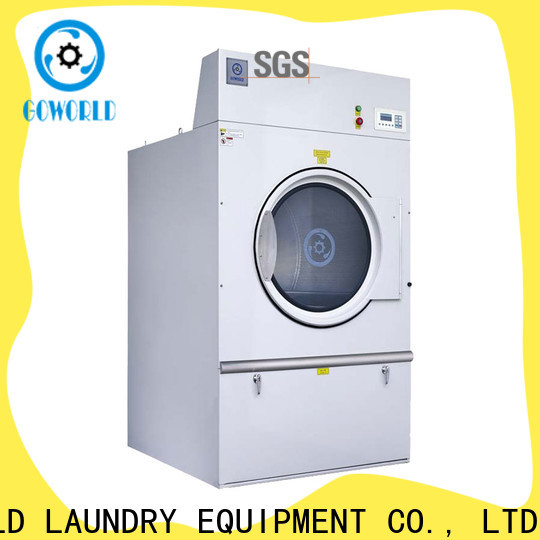 GOWORLD clothes electric tumble dryer simple installation for hospital