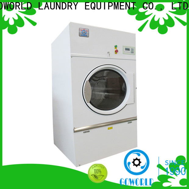 GOWORLD standard laundry dryer machine for high grade clothes for inns