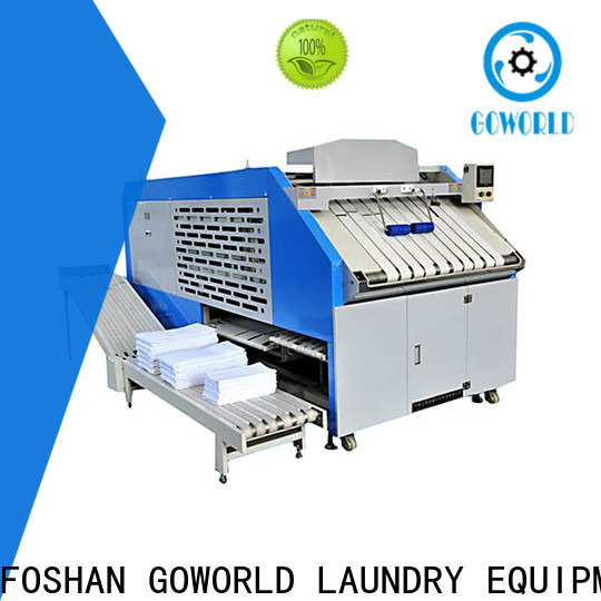 GOWORLD bed automatic towel folder efficiency for textile industries