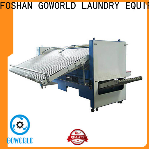 GOWORLD intelligent automatic towel folder high speed for textile industries