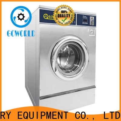 GOWORLD automatic self laundry machine for commercial laundromat