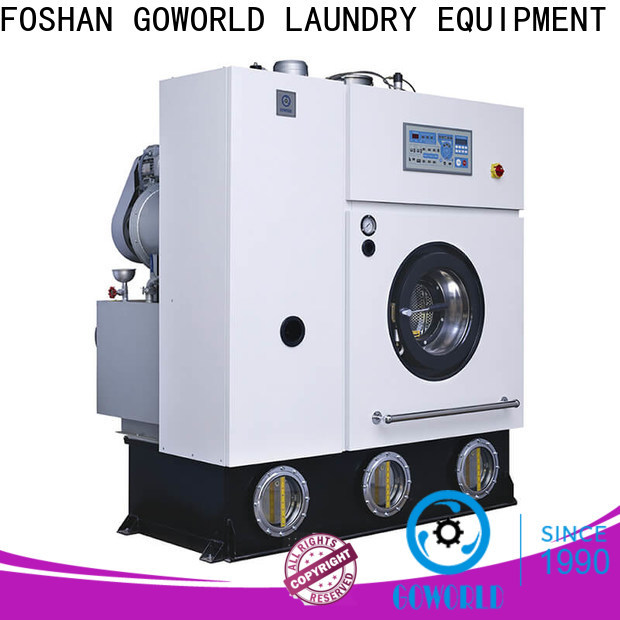 GOWORLD safe dry cleaning washing machine Easy operated for laundry shop