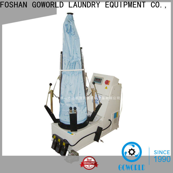 GOWORLD iron industrial iron press machine easy use for dry cleaning shops