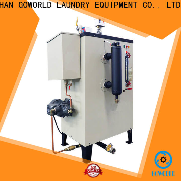 GOWORLD simple laundry steam boiler low cost for pharmaceutical