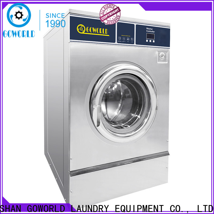 GOWORLD high quality commercial washer extractor simple installation for hotel