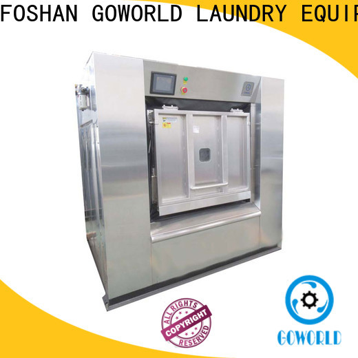 GOWORLD automatic industrial washer extractor for sale for hotel