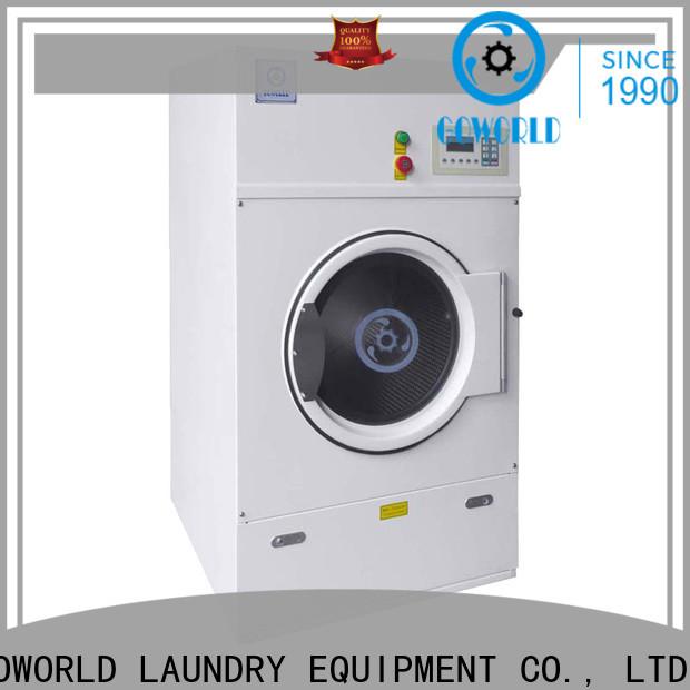 GOWORLD 8kg150kg tumble dryer machine easy use for hospital