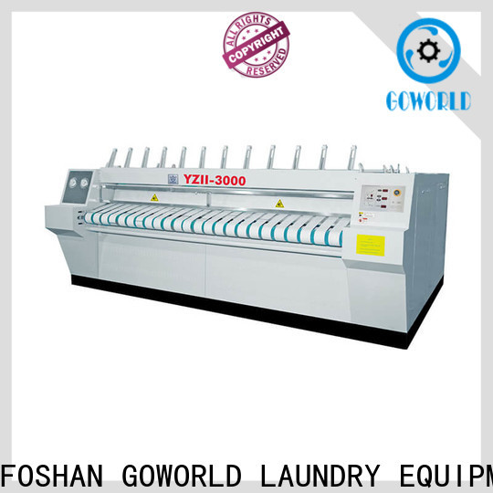 GOWORLD style ironer machine for sale for laundry shop