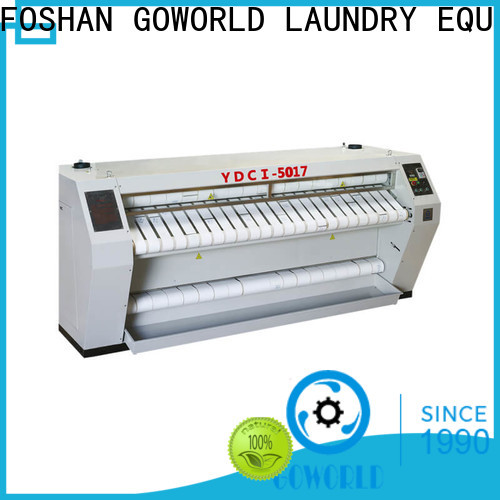 GOWORLD heat proof flatwork ironer factory price for laundry shop