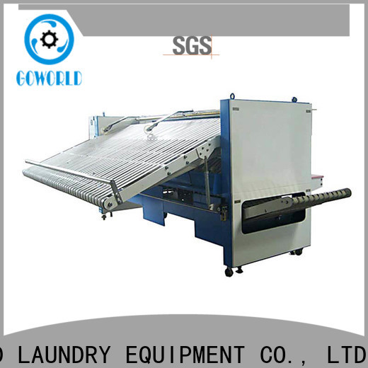 GOWORLD towel towel folder high speed for laundry factory