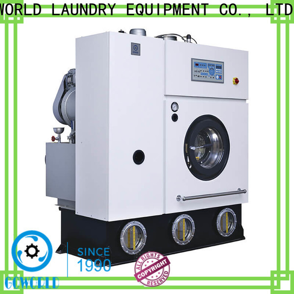 safe dry cleaning machine hotel Easy operated for laundry shop