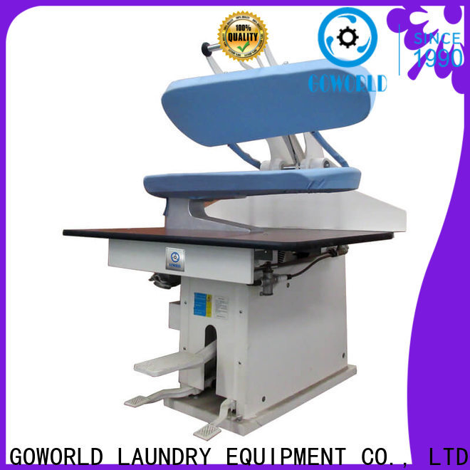 GOWORLD form laundry press machine easy use for laundry
