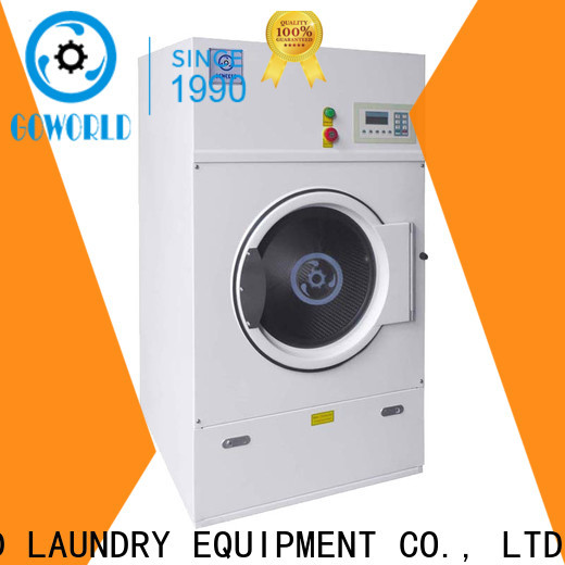 GOWORLD clothes tumble dryer machine for drying laundry cloth for laundry plants