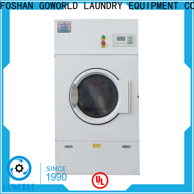 GOWORLD gas tumble dryer machine factory price for laundry plants
