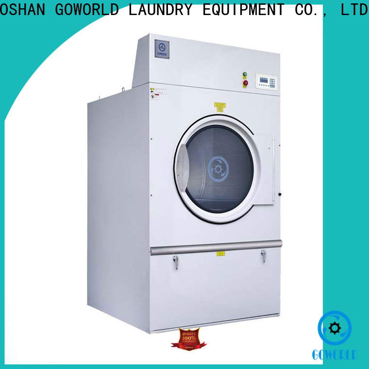 Stainless steel industrial tumble dryer natural steadily for laundry plants