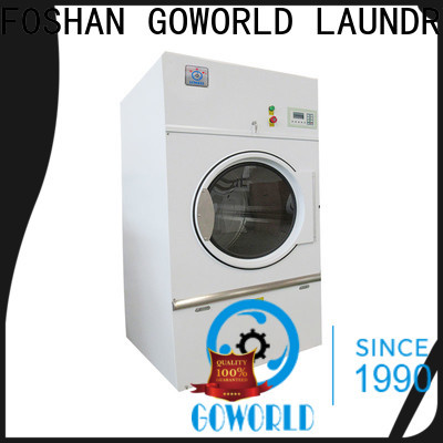 GOWORLD automatic electric tumble dryer steadily for laundry plants