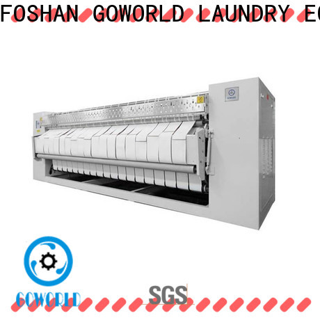 GOWORLD stainless steel flat work ironer machine factory price for hotel