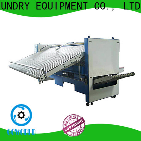 GOWORLD engineering folding machine high speed for laundry factory