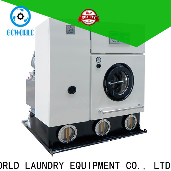 GOWORLD industries dry cleaning washing machine Easy operated for railway company