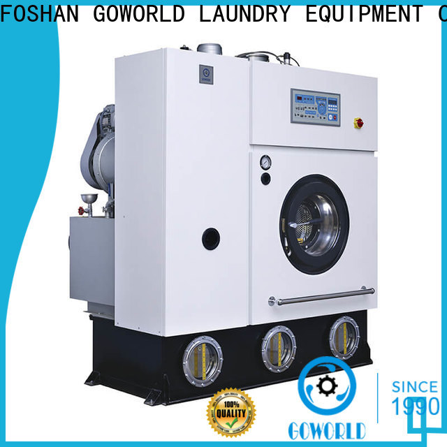 GOWORLD reliable dry cleaning machine Easy operated for railway company
