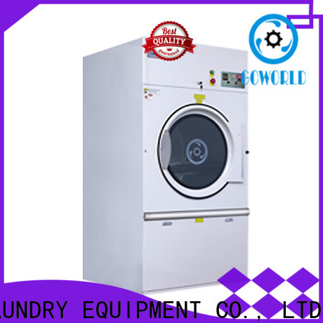 GOWORLD stainless steel semi automatic laundry machine Easy to control for hotel