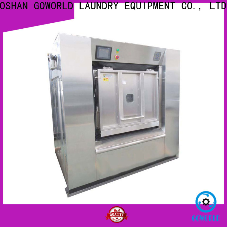 GOWORLD automatic barrier washer extractor easy use for inns