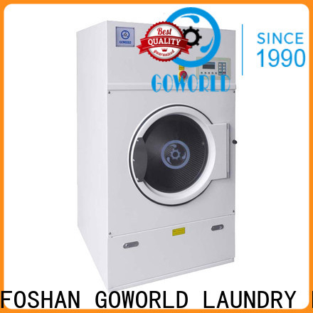 GOWORLD natural tumble dryer machine simple installation for hotel
