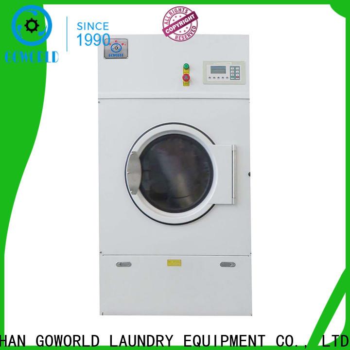 GOWORLD lpg tumble dryer machine steadily for inns
