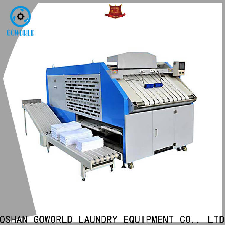GOWORLD intelligent folding machine factory price for textile industries