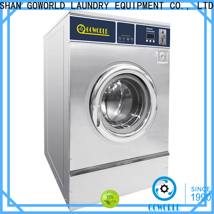 GOWORLD coin self-service laundry machine for sale for service-service center