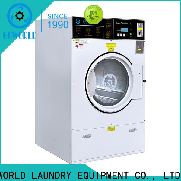 GOWORLD self service washing machine natural gas heating for laundry shop
