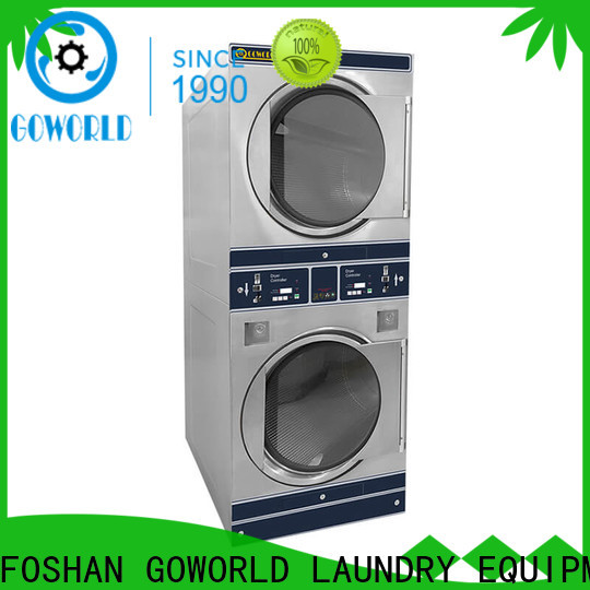 GOWORLD convenient self service laundry equipment electric heating for commercial laundromat