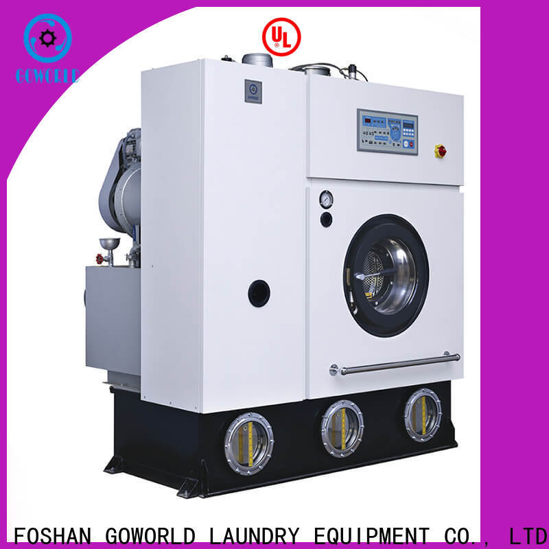 GOWORLD reliable dry cleaning machine China for textile industries