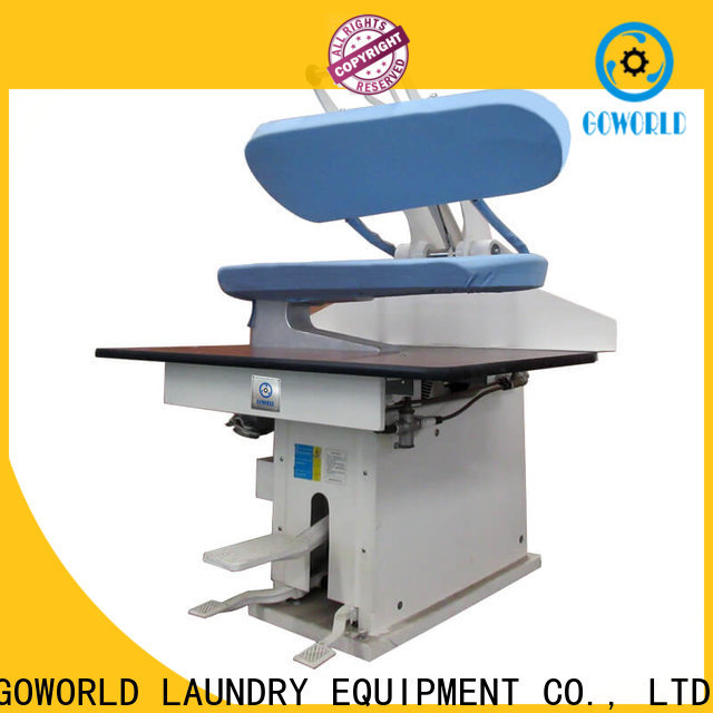 GOWORLD best laundry press machine Manual control for armies