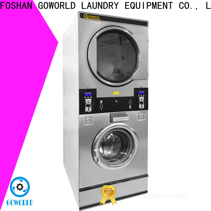 GOWORLD operated self-service laundry machine for sale for hotel
