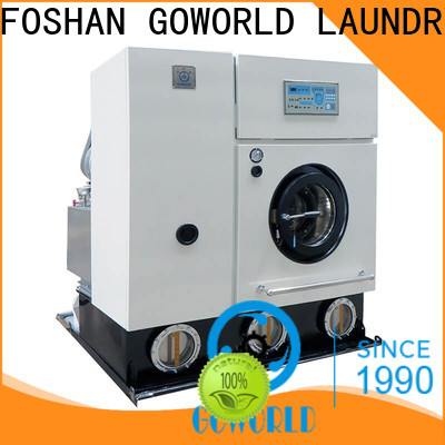 stainless steel dry cleaning machine clothes for railway company
