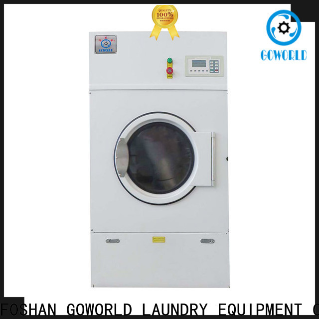 GOWORLD safe laundry dryer machine simple installation for hospital